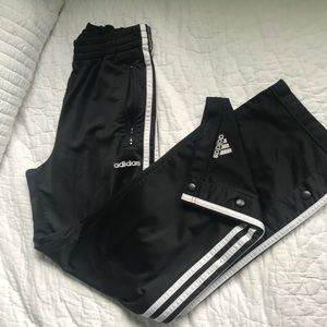 Snapoff Adidas Track Suit Pants